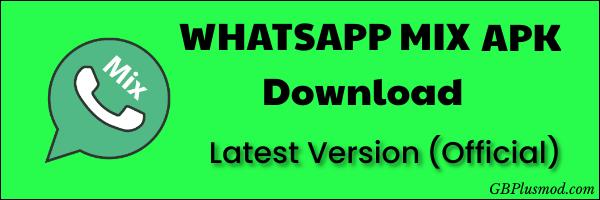 WhatsApp-Mix-Apk