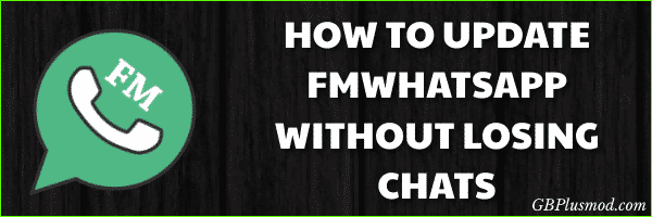 How to Update FMWhatsApp Without Losing Chats